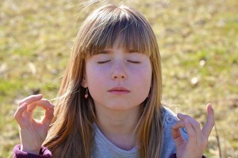 adelgazar meditación